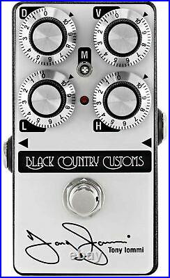 Tony Iommi 50th Anniversary TI Boost Black Country Customs Boost Guitar Effects
