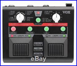 VOX VLL-1 Lil' Looper Guitar or Vocal Effects Pedal Dual Loops and Effects