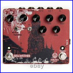 Walrus Audio Bellwether Analog Delay Tap Tempo Guitar Effects Stompbox Pedal