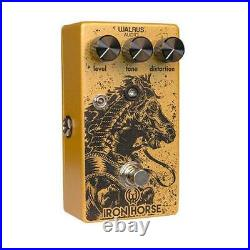 Walrus Audio Iron Horse LM308 Distortion V2 Guitar Effects Pedal