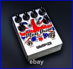 Wampler Plexi Drive Deluxe British Distortion Guitar Effect Effects Pedal NEW