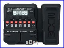 ZOOM G1X FOUR Guitar Multi-Effects Processor New in Box