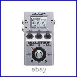 Zoom MS-50G MultiStomp Multi Guitar Effect Pedal MS50G New F/S with Tracking